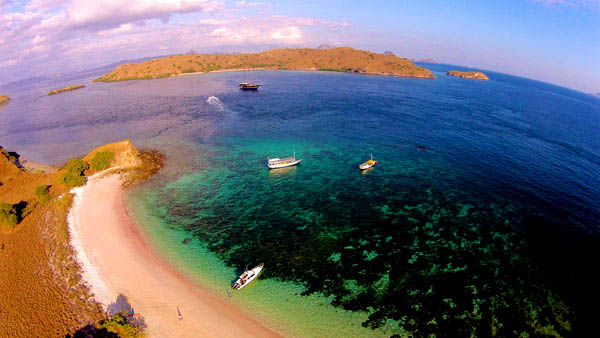 Pink Beach di Komodo/Foto: Indonesiatravel