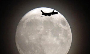 Supermoon/Foto: AFP