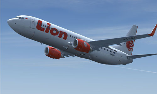 Ilustrasi: Pesawat Lion Air