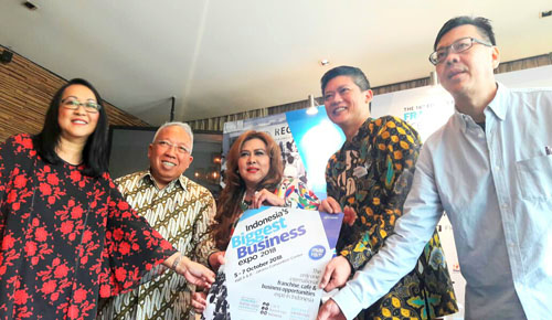 Press Conference  Indonesia`s Biggest Business Expo 2018/Foto: Reed Panorama Exhibitions