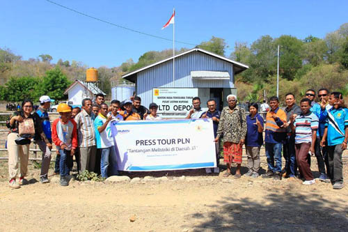 Press Tour /Foto: Dok PLN NTT