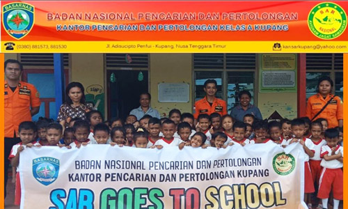 SAR Kupang Goes to School/Foto: SAR