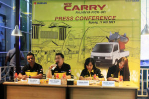 Jumpa Pers Peluncuran Suzuki New Carry Pick-Up/Foto: Lintasntt.com