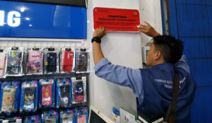 Penertiban Money Changer Ilegal. Foto: BI Perwakilan NTT