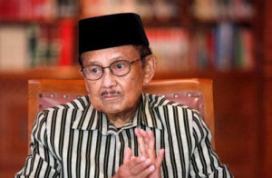 Mendiang BJ Habibie/Foto: Media Indonesia